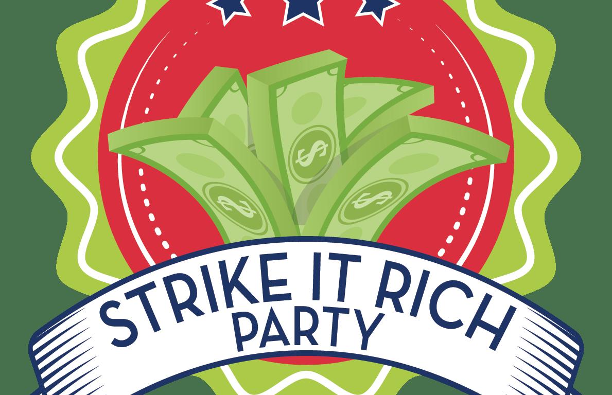 2019 Strike It Rich Logo