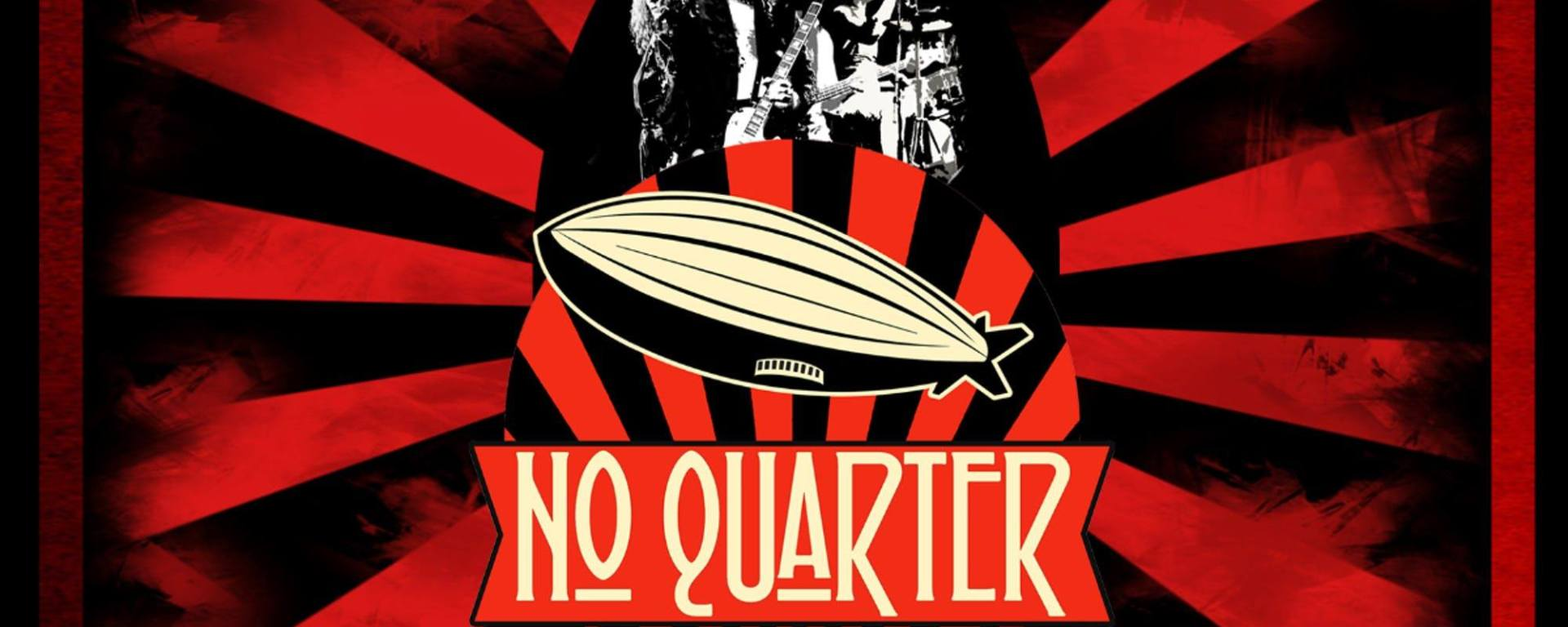 no quarter led zeppelin tribute band poster