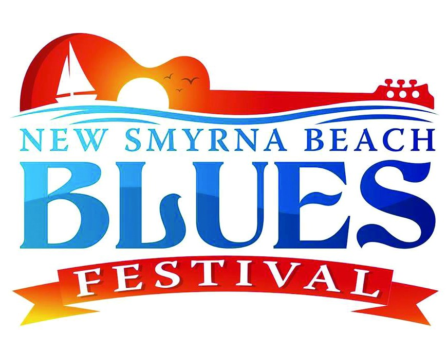 blues festival logo