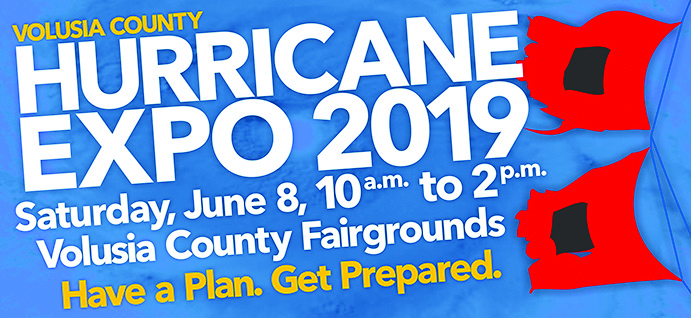 hurricane expo event poster