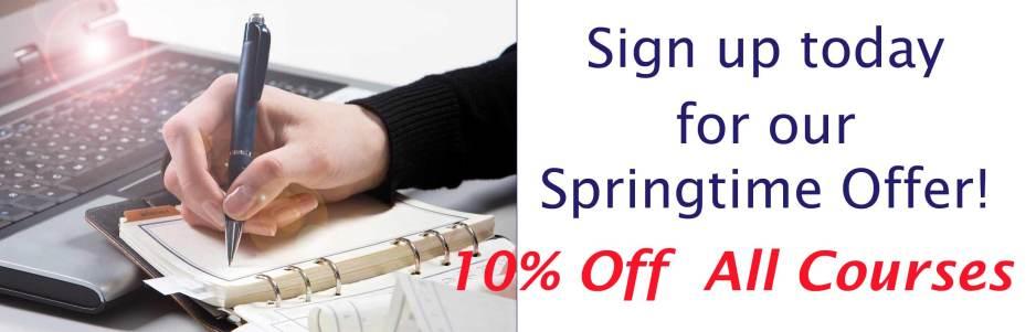 spring offer