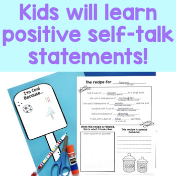Self Esteem Activities I Am Sweet By CounselorChelsey TpT
