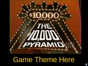 10000 Pyramid PowerPoint Game Show Template By Teacher Stuff 123