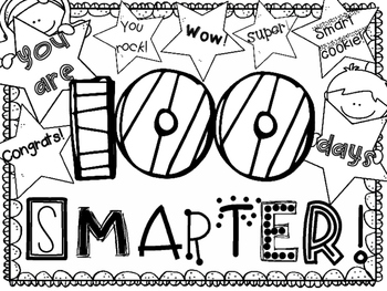 100th day of school coloring pages # 4