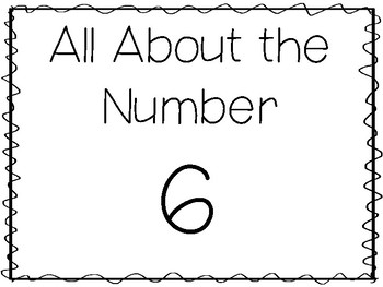 15 All About The Number 6 Tracing Worksheets And Activities Preschool 1st Grade