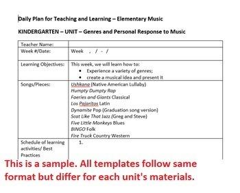 2nd Grade Winter Holidays Christmas Unit Lesson Plan Template Arkansas Music