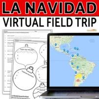 La Navidad Spanish Christmas Digital Activities - Click to Download! Google Maps in Spanish Class