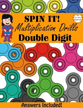 Multiplication Worksheets   Double Digit by The Traveling Classroom Multiplication Worksheets   Double Digit