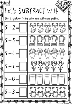 Addition And Subtraction Numbers 1 To 10 Worksheets In Nsw