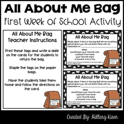 All About Me Bag