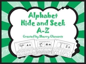 Alphabet Hide And Seek A Z