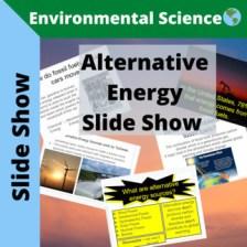 Alternative Energy Slide Show (Google Slides)