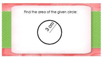 Area And Circumference Of Circles Word Problems Worksheet