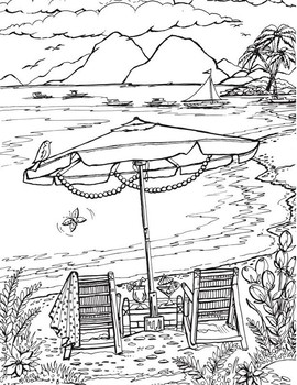 Art Bundle 468 Summer Coloring Pages People Places Events K 6