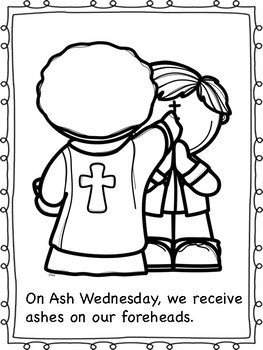 ash wednesday coloring pages # 6