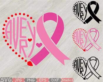 Download Cancer Ribbon Outline Silhouette - Eyebrows Idea