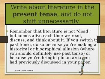 Example Of Literary Analysis
