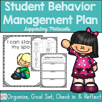Behavior Management Plan Supporting Materials