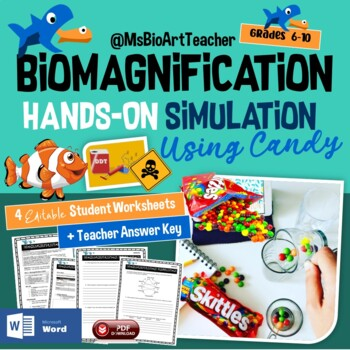 Biomagnification Simulation With Skittles By