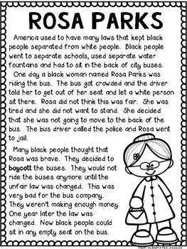 Rosa Parks Black History Month