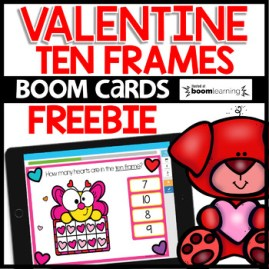 Boom Cards Ten Frames up to 10