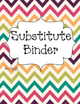 Bright Chevron Teacher Binder Covers By Jena Smith TpT