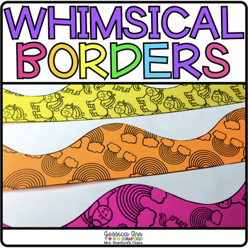 bulletin board borders whimsical