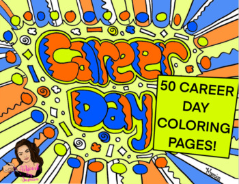 Career Day Coloring Worksheets Teaching Resources Tpt