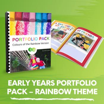 Child Portfolio Learning Journal Templates For Childcare Pre K Preschool