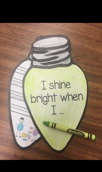 Christmas Lights Kindness Writing And Craft By Curiosity In K TpT