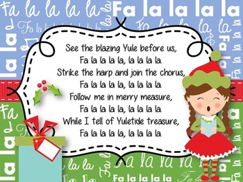 Christmas Sing Along Powerpoint Editable By Lindsay