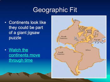 Continental Drift & Plate Tectonics Powerpoint includes ...