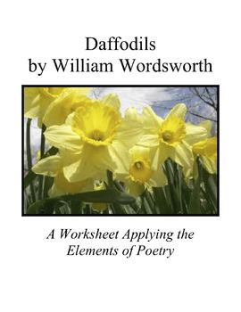 Applying The Elements Of Poetry To Daffodils By William