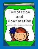 Denotation Connotation Activities Amp Worksheets