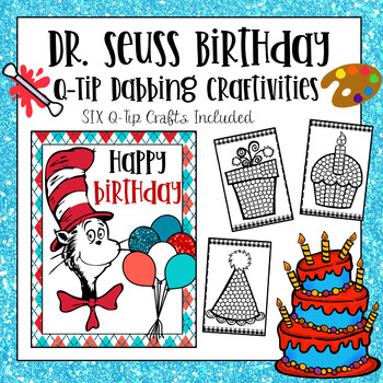 Dr Seuss Birthday Worksheets Teaching Resources Tpt