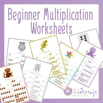 Early Learner Introduction To Multiplication Worksheets By