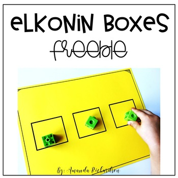 Elkonin Box By Amanda Richardson