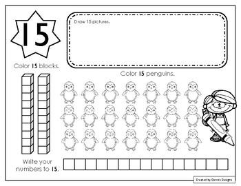 Number 15 Worksheet By Dennis Designs Teachers Pay Teachers