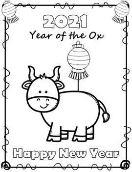 Free Chinese New Year 2020 Coloring Sheets By The Love Of Coaching