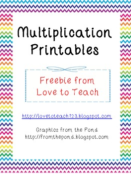 Free Multiplication Worksheets By Laura Love To Teach