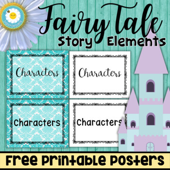 fairy tale story elements posters free