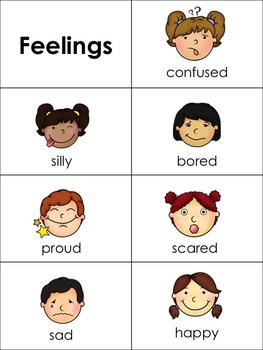 Feelings Word Wall By Winged One Teachers Pay Teachers
