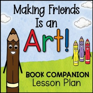Making Friends is an Art Task Cards sold on Tpt