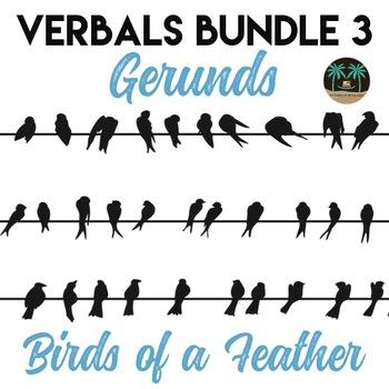 Verbals 3 Gerunds Amp Gerund Phrase Bundle By Reading And