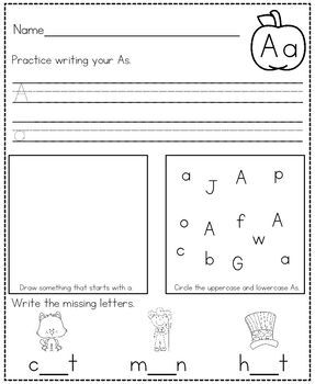 Get Ready For Kindergarten Summer Packet By Kendra S