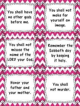 10 commandments of god # 77