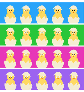 Google Classroom Animated Header (Baby Chicks) Distance Learning