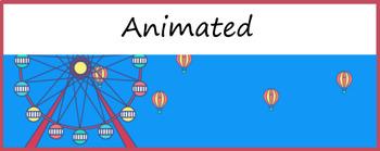 Google Classroom Animated Theme (Hot Air Balloon)