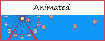 Google Classroom Animated Theme (Hot Air Balloon)