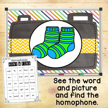 Homophones Hunt Amp Find Game By Keeping Up With Mrs Harris